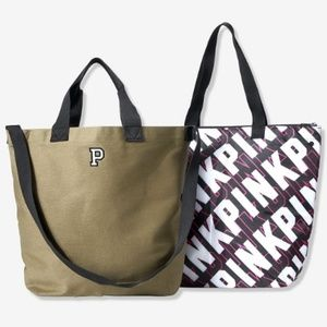 🆕️VS PINK: 2-in-1 Cooler Tote Bag!